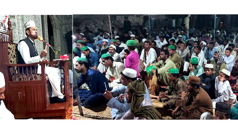 بھکر: منہاج القرآن دریاخان کے زیراہتمام فلسفہ شہادت حسین علیہ السلام کانفرنس