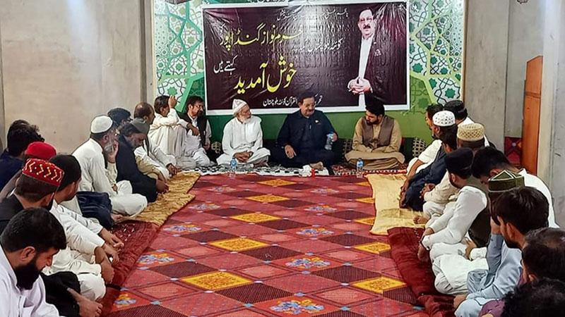 کوئٹہ: منہاج القرآن بلوچستان کے رہنماؤں کی خرم نواز گنڈاپور سے ملاقات