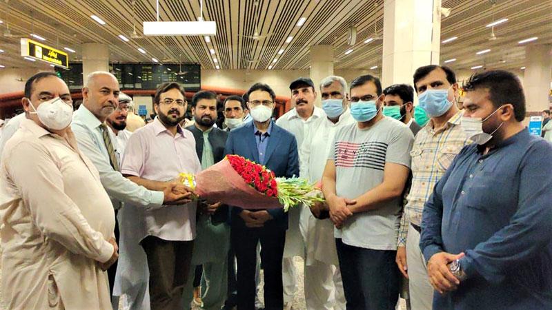ڈاکٹر حسن محی الدین قادری دورہ یورپ سے وطن واپس پہنچ گئے