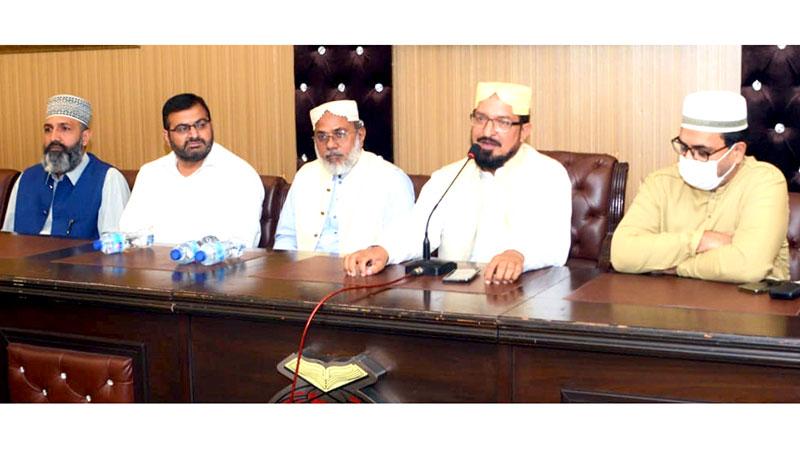 منہاج القرآن فرقہ واریت سے پاک دینی و اصلاحی تحریک ہے: علامہ حسن میر قادری
