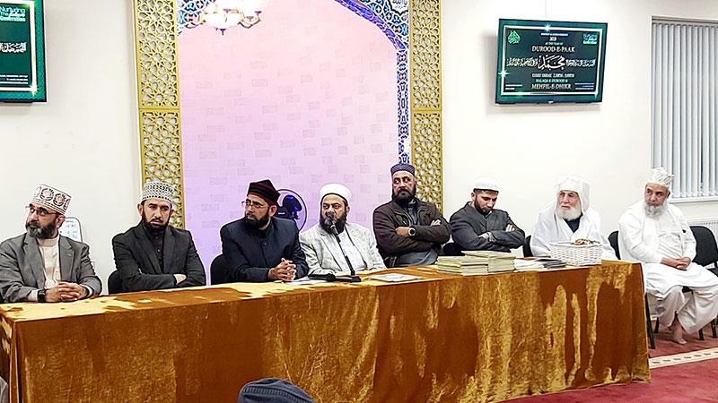 بریڈ فورڈ: علامہ محمد افضل سعیدی کے بھائی کے ایصال ثواب کے لیے ''قرآن خوانی''