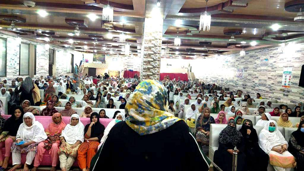 حافظ آباد: منہاج القرآن ویمن لیگ کے زیرِاہتمام ''سیدہ زینب'' سلام اللہ علیہا کانفرنس
