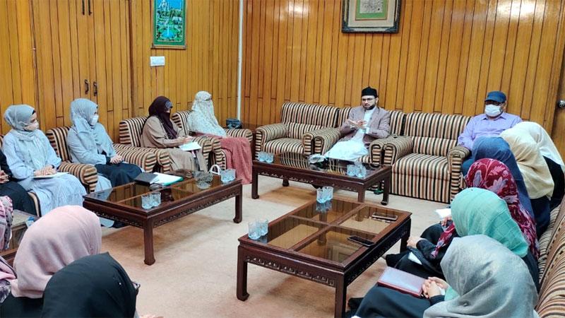 خواتین کی اسلامی نہج پر تعلیم و تربیت ضروری ہے: ڈاکٹر حسن محی الدین قادری