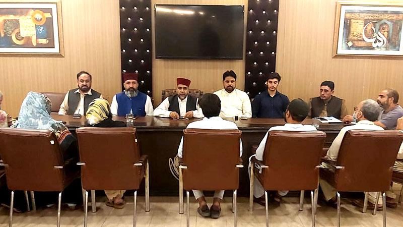 منہاج القرآن زونل کوآرڈینیشن کونسل لاہور کا اجلاس