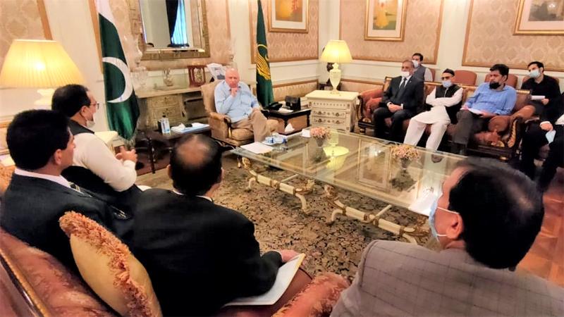 Appreciative of Shaykh-ul-Islam's scholarly services : Governor Punjab