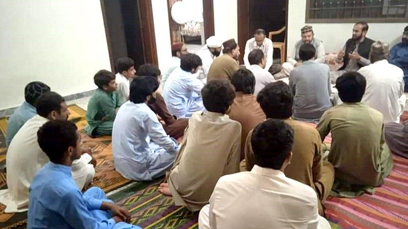 منہاج القرآن تحصیل ترنول بیلٹ اسلام آباد کا اجلاس
