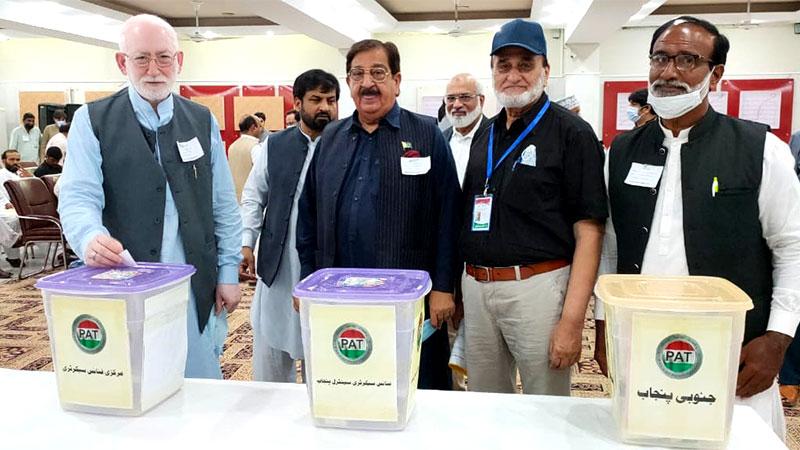 پاکستان عوامی تحریک کے انتخابات مکمل، قاضی زاہد حسین صدر، خرم نواز گنڈاپور سیکرٹری جنرل منتخب