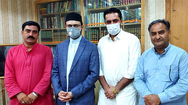 پاکستان عوامی تحریک اسلام آباد کے رہنماوں کی ڈاکٹر حسن محی الدین قادری سے ملاقات