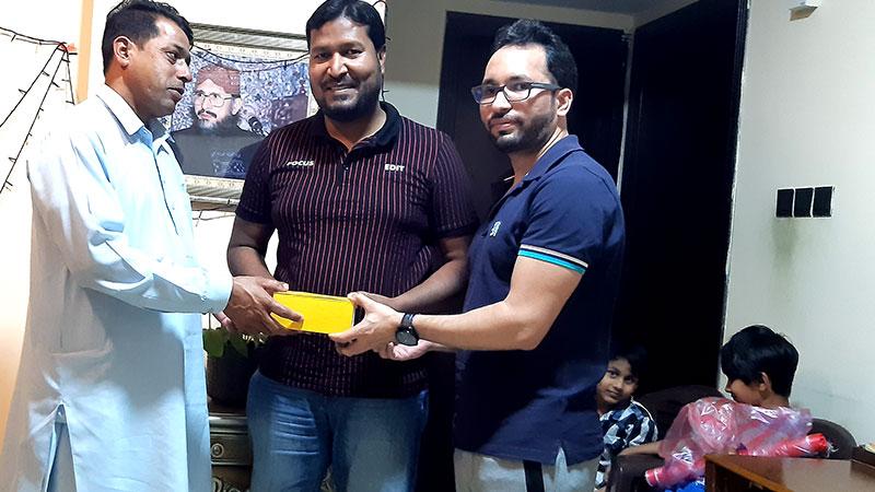 دبئی: مصطفیٰ عاصم کے اعزاز میں الوداعی تقریب