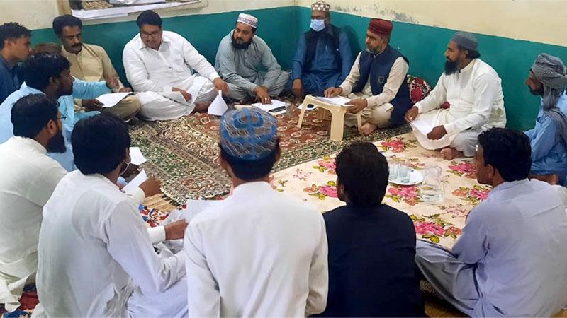 تحریک منہاج القرآن ضلع قصور کی ایگزیکٹو کونسل کا اجلاس