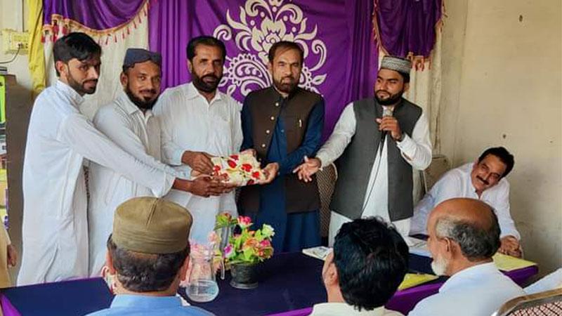 تحریک منہاج القرآن کلورکوٹ کا اجلاس