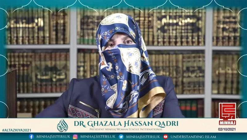 Al-Tazkiya 2021: Dr Ghazala Hassan Qadri delivers lecture on importance of knowledge