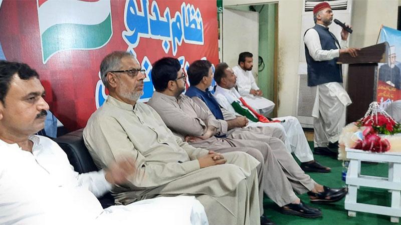 منہاج القرآن فیصل آباد پی پی 114 کا ورکرز کنونشن