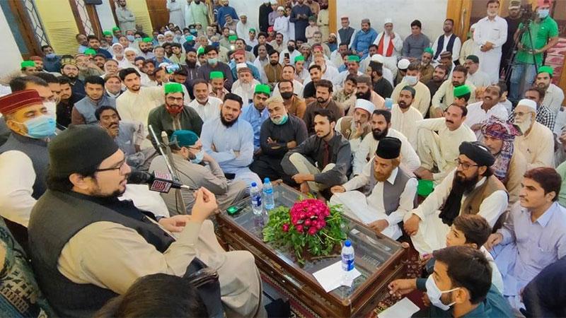 فیصل آباد: ڈاکٹر حسین محی الدین قادری کا ورکرز کنونشن سے خطاب
