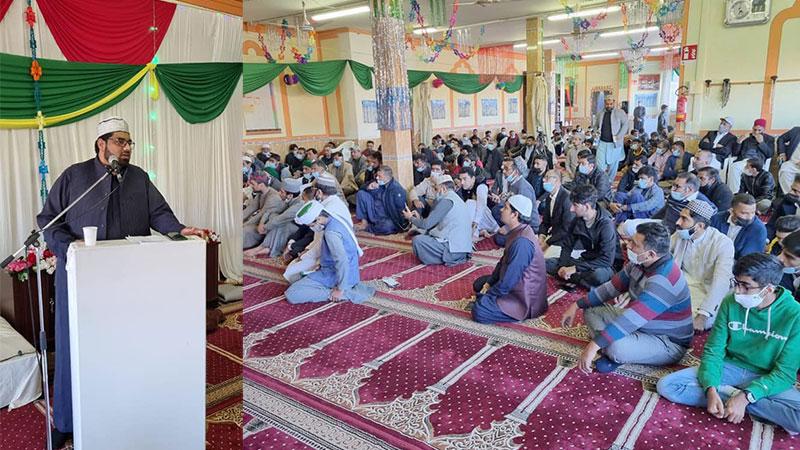 منہاج القرآن انٹرنیشنل کارپی مرکز پر میلاد مصطفیٰ کانفرنس