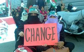 کراچی : ویمن لیگ کے زیراہتمام ریاست بچاؤ ریلی