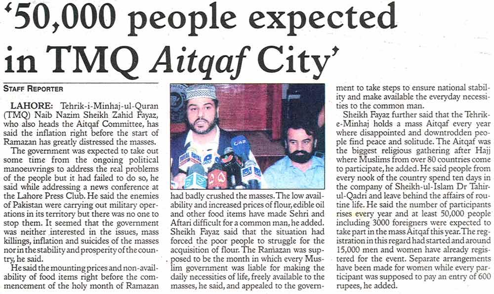 تحریک منہاج القرآن Minhaj-ul-Quran  Print Media Coverage پرنٹ میڈیا کوریج Daily The Post Page: 2
