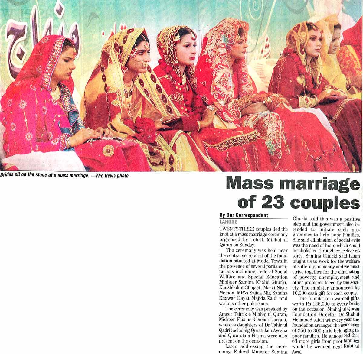 Minhaj-ul-Quran  Print Media CoverageDaily The News Page: 13