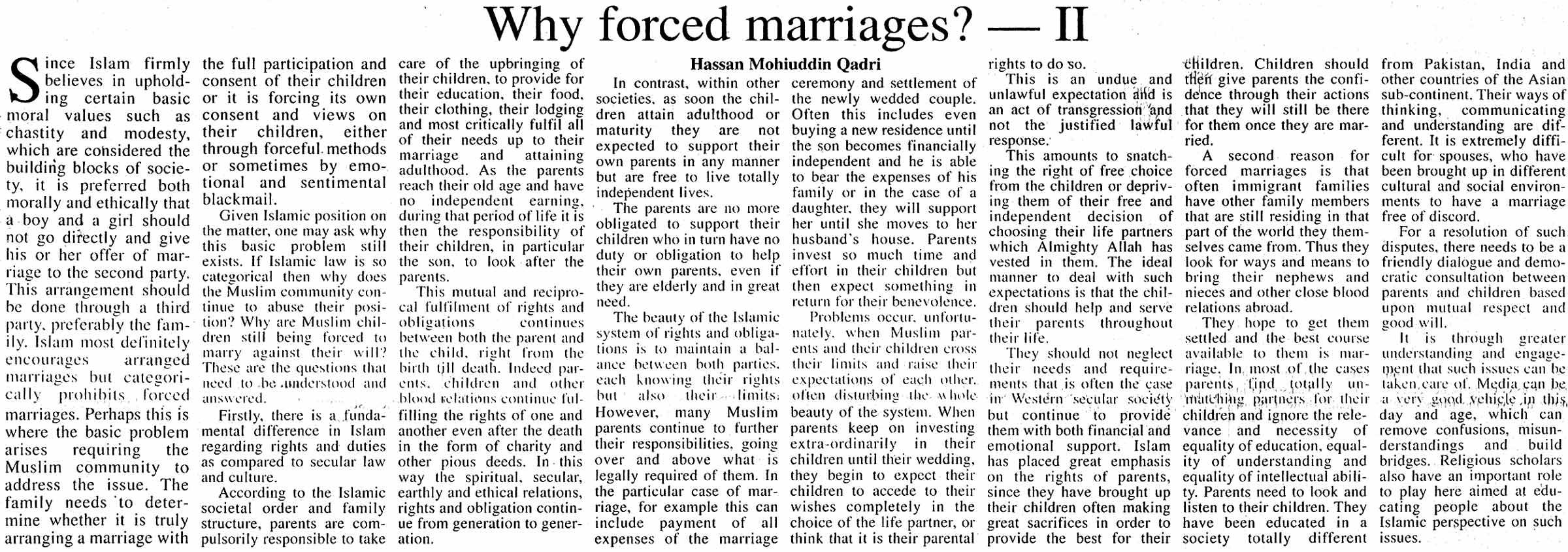 Minhaj-ul-Quran  Print Media CoverageThe-frontier-post Page: 7