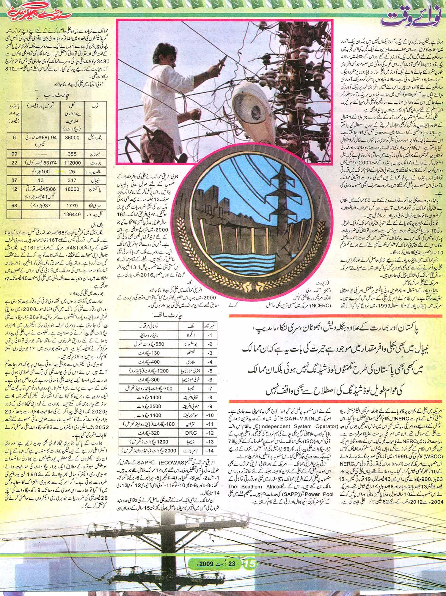 Minhaj-ul-Quran  Print Media CoverageSunday Magazine Daily Nawa-i-Waqt Page: 15