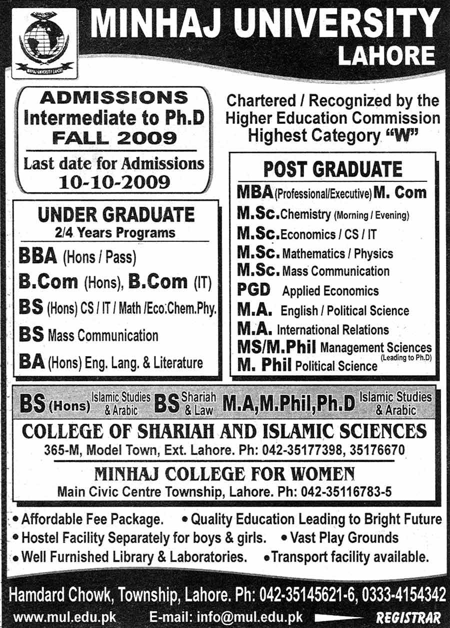 Minhaj-ul-Quran  Print Media CoverageDaily Nawa i Waqt Page: 3