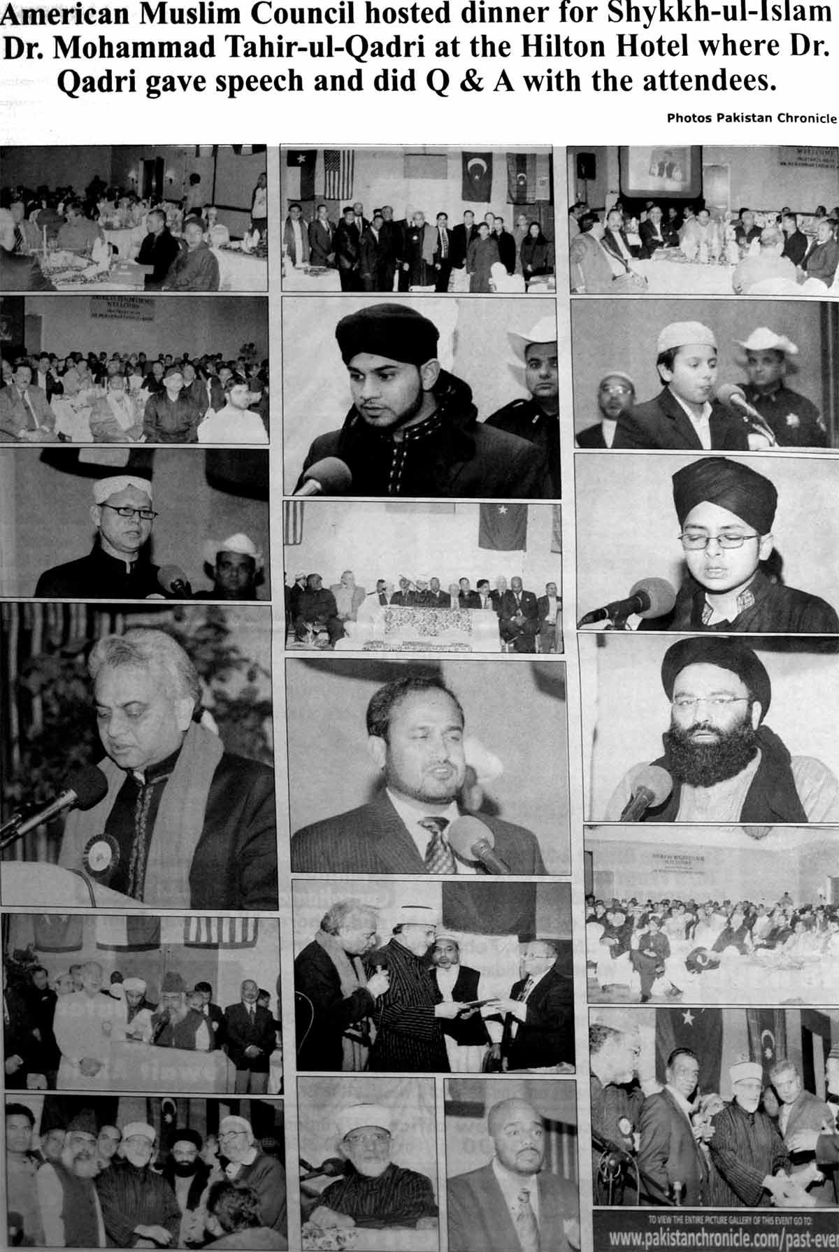 Minhaj-ul-Quran  Print Media CoveragePakistan Chronicle