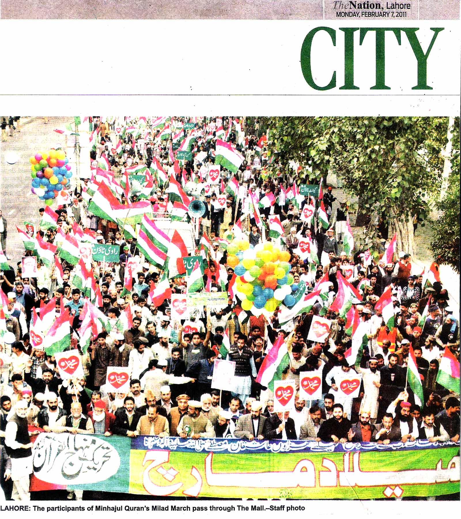 Minhaj-ul-Quran  Print Media CoverageDaily-The-Nation-Page-14