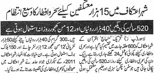 تحریک منہاج القرآن Minhaj-ul-Quran  Print Media Coverage پرنٹ میڈیا کوریج Daily Pakistan Page: 2