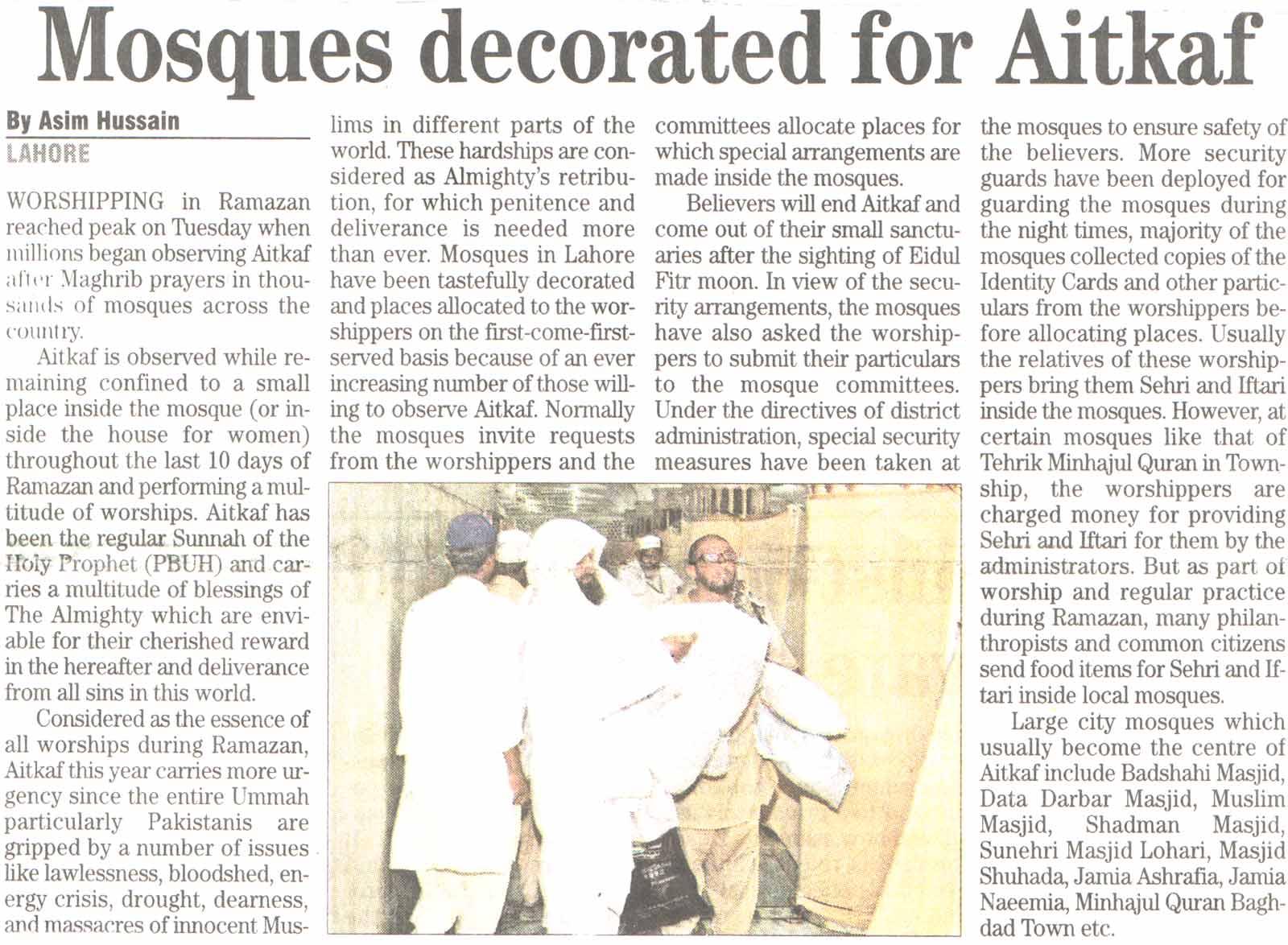 Minhaj-ul-Quran  Print Media CoverageDaily The News Page-14