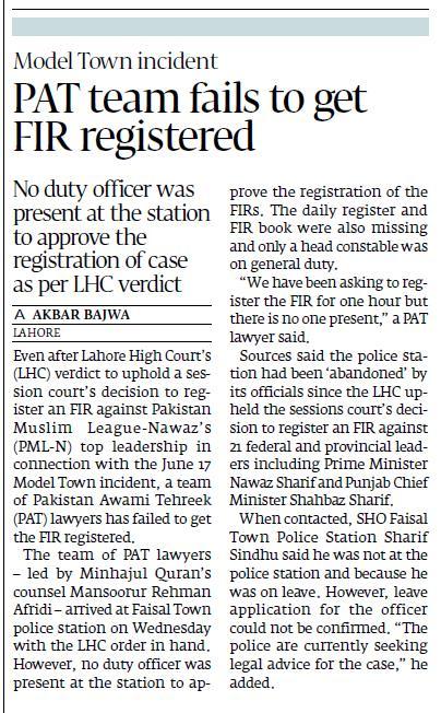 Print Media Coverage Daily Tribune Page 9