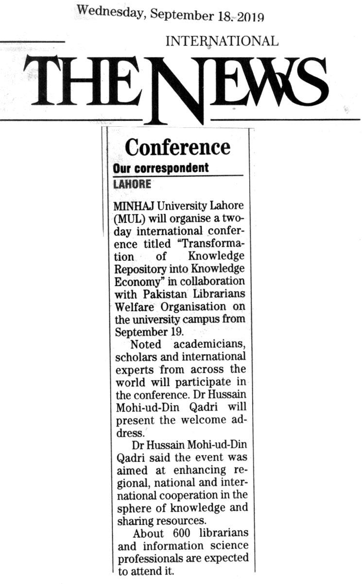 Pakistan Awami Tehreek Print Media CoverageTHE NEWS CITY PAGE